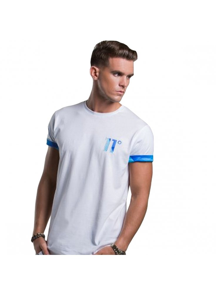 11 degrees white t shirt