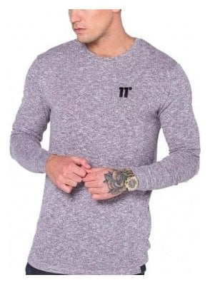 Composite Long Sleeved Tshirt Pink/black