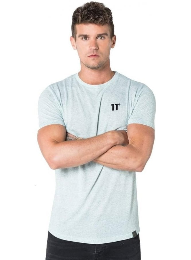 11 DEGREES Composite Short Sleeve Top Chalk Grindle