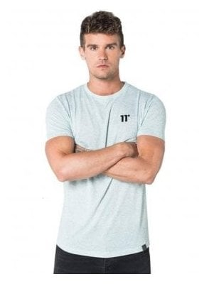 Composite Short Sleeve Top Chalk Grindle