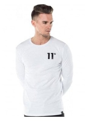 Core Long Sleeve Tee Shirt White
