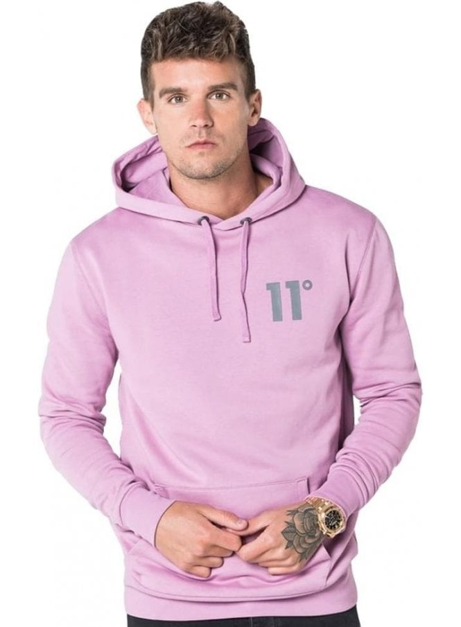 11 DEGREES Core Pull Over Hoodie Orchid