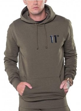 Core Pull Over Hoodie Top Khaki