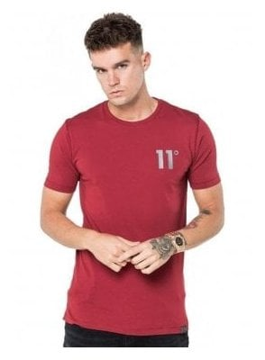 Core Tee Shirt Burnt Red