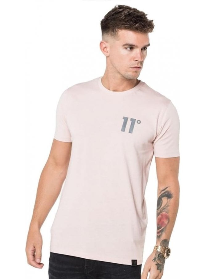 11 DEGREES Core Tee Shirt Dusty Pink