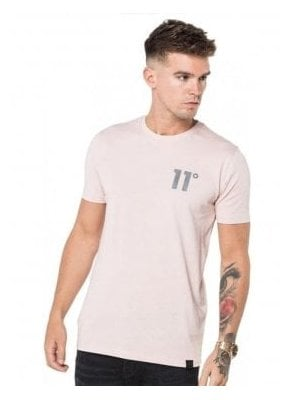 Core Tee Shirt Dusty Pink