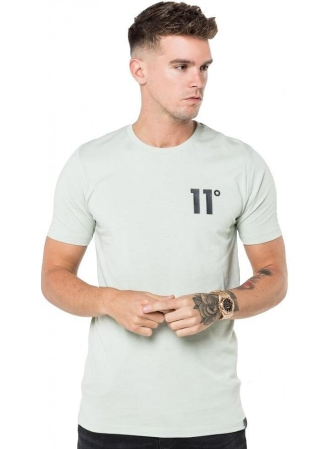 11 DEGREES Core Tee Shirt Pearl Green