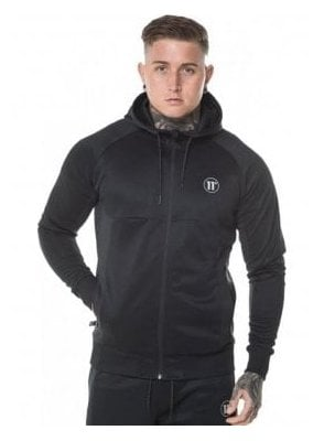 Full Zip Hoodie Anthracite Black