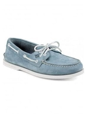 A/o 2-eye Boating Shoe Washable Blue