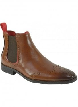 Caesar Chelsea Boot Tan