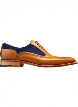 Barker Harding Creative Collection Good Year Welte Cedar Calf/blue Suede