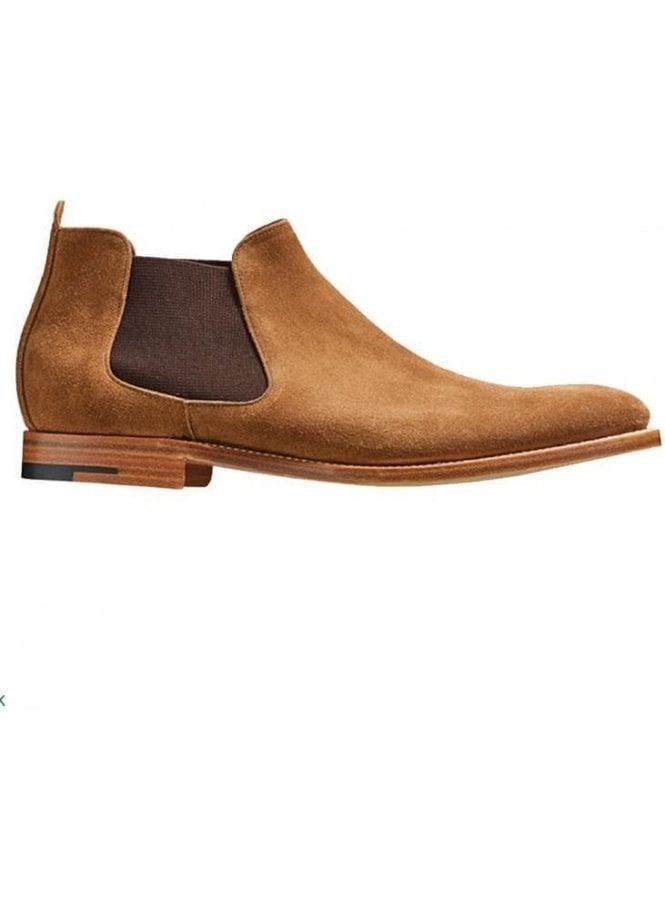 BARKER Lester Suede Chelsea Boot Snuff Suede