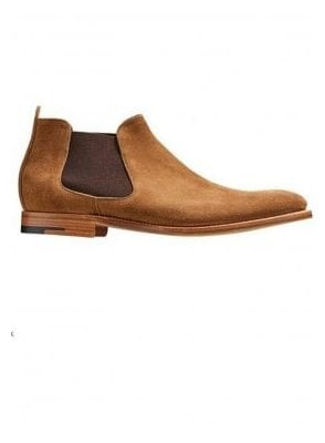 Lester Suede Chelsea Boot Snuff Suede