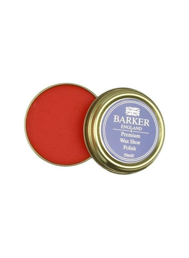 BARKER Premium Wax Shoe Polish Tan