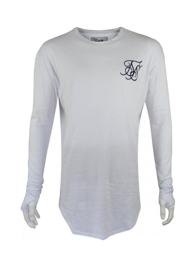 SIK SILK Base Layer L/s Tee White (spring & summer 15)