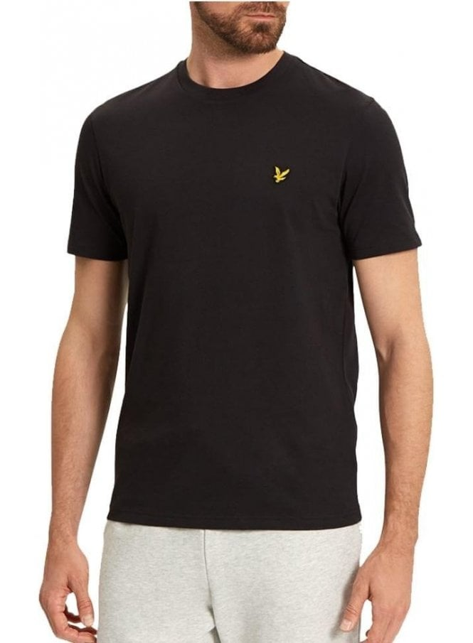 LYLE & SCOTT Basic Logo Tshirt Black