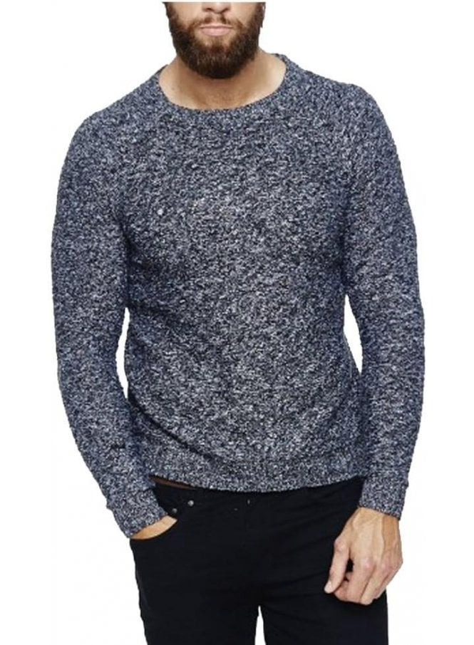 BELLFIELD Caister Grindle Jumper Charcoal