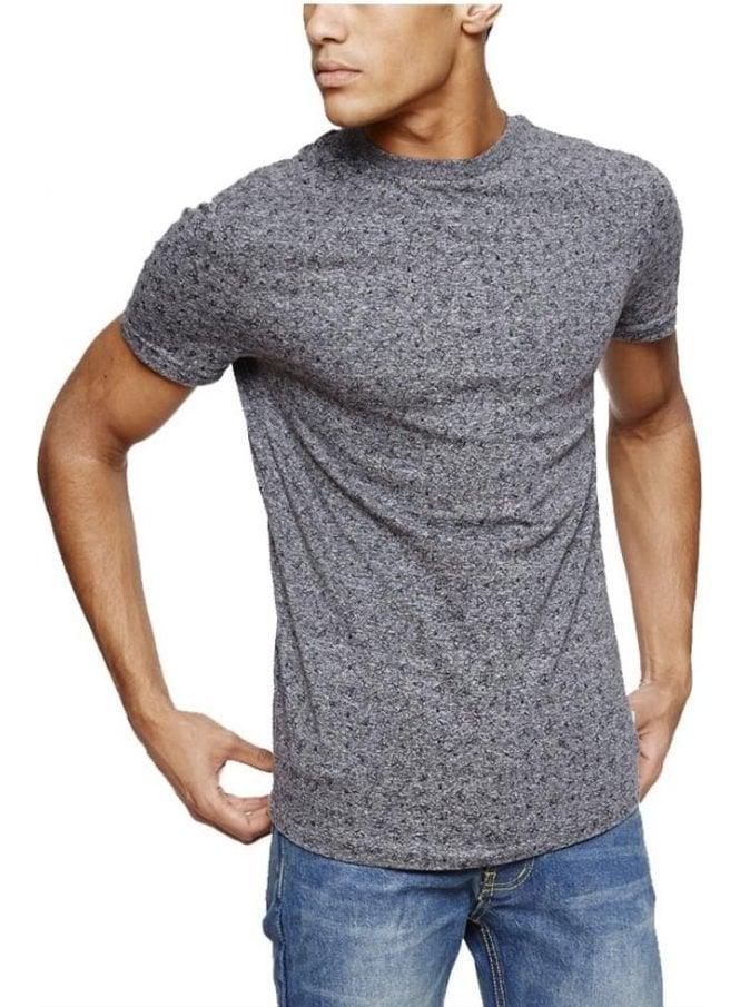 BELLFIELD Makalu Shard Print Tshirt Grey