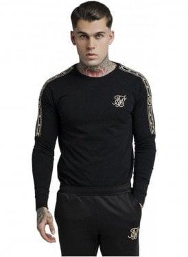 Cartel Long Sleeve Gym Tee - Black