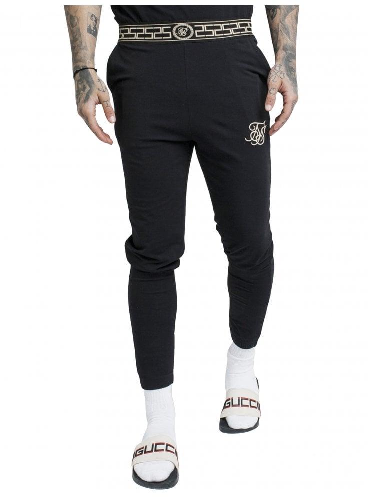 b0279469 Cartel Lounge Pants - Black - Designer Menswear - Ghia Menswear