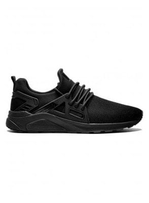 Mens Black Mesh CT 8000 Runner Trainer Black