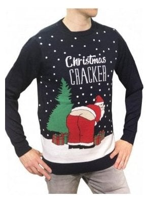 Mens Christmas Cracker - Midnight Navy