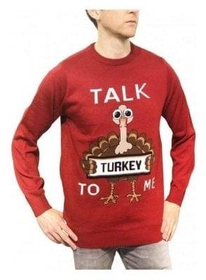 Mens Talk Turkey To Me - Red