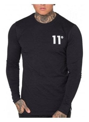 Core Long Sleeved Tshirt Black