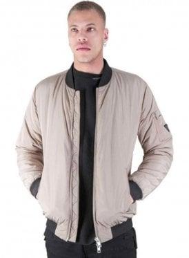 Oakwood Bomber Style Jacket Dark Stone