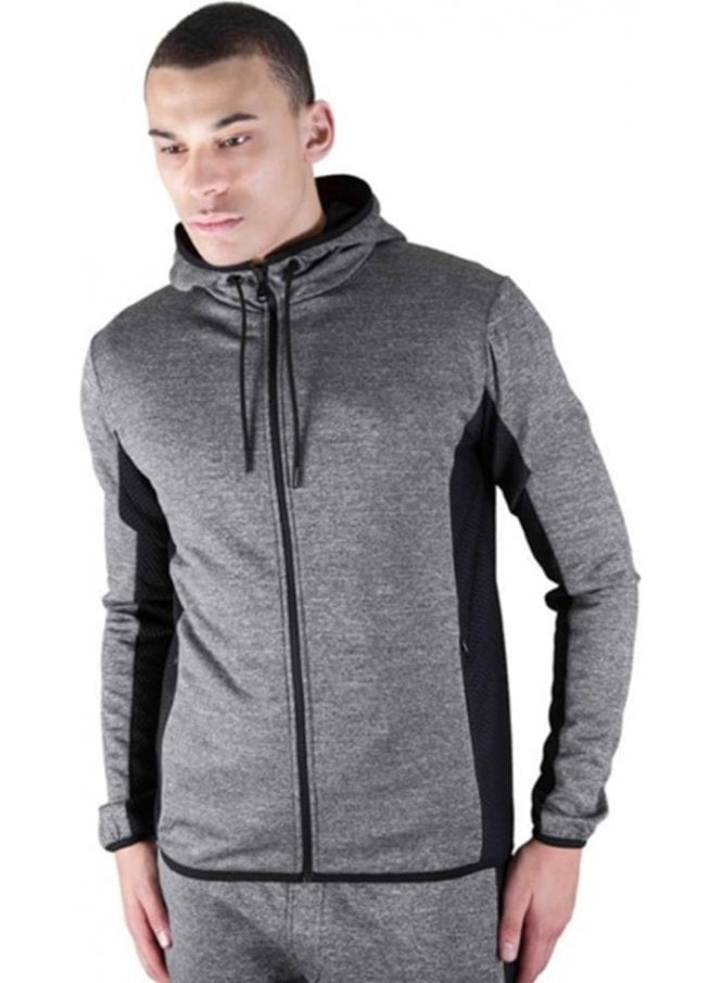 CREATIVE RECREATION Roscoe Zip Through Jacket Charcoal