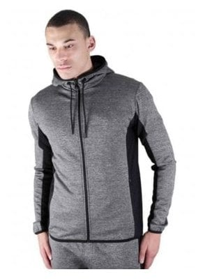 Roscoe Zip Through Jacket Charcoal