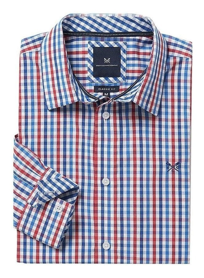 CREW CLOTHING Classic Fit Gingham Shirt