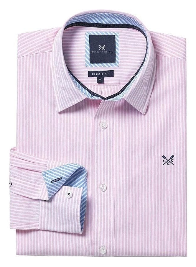 CREW CLOTHING Classic Fit Stripe Shirt