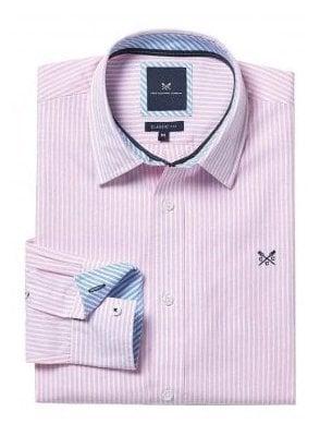 Classic Fit Stripe Shirt