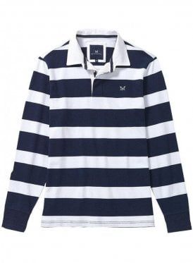 Crew Long Sleeve Rugby Shirt