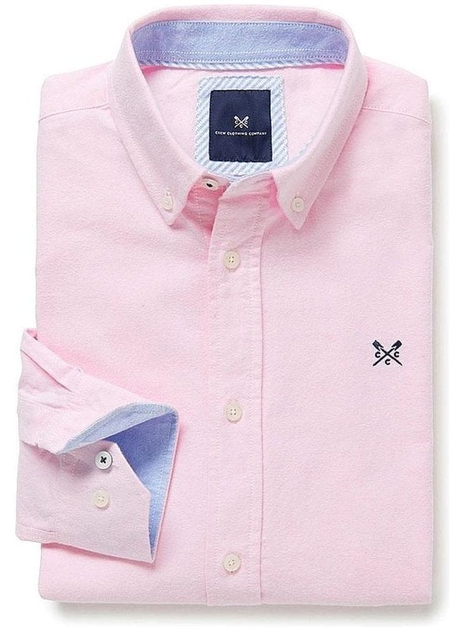 CREW CLOTHING Oxford Classic Fit Shirt Classic Pink