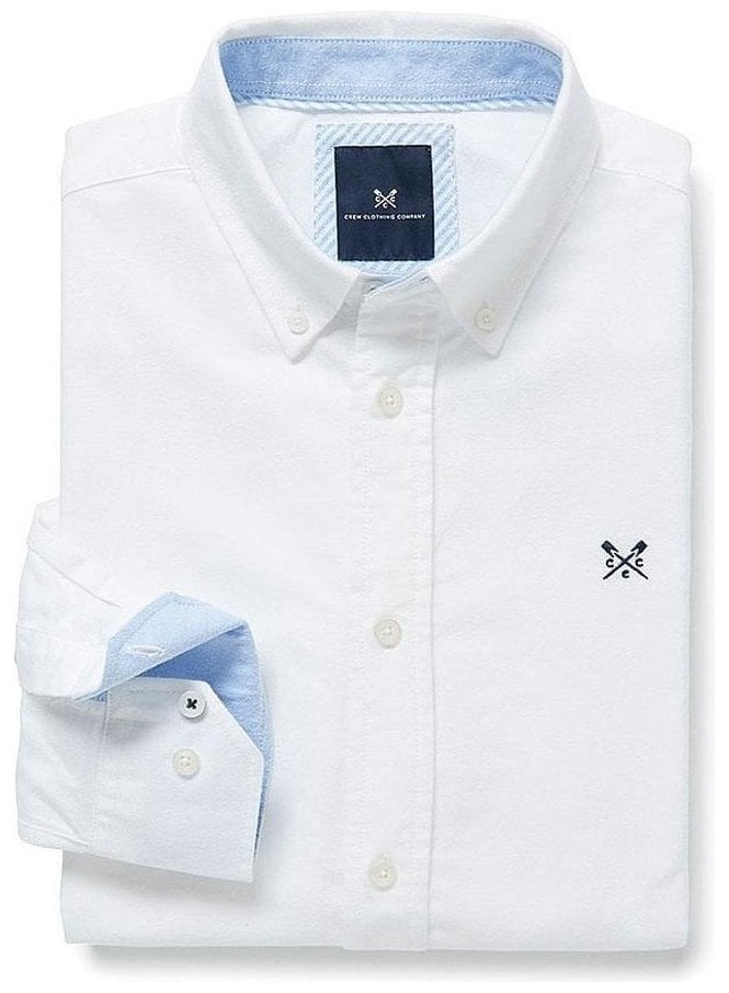 CREW CLOTHING Oxford Classic Shirt White