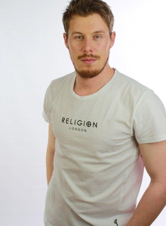 RELIGION Daglish Ss Tshirt White