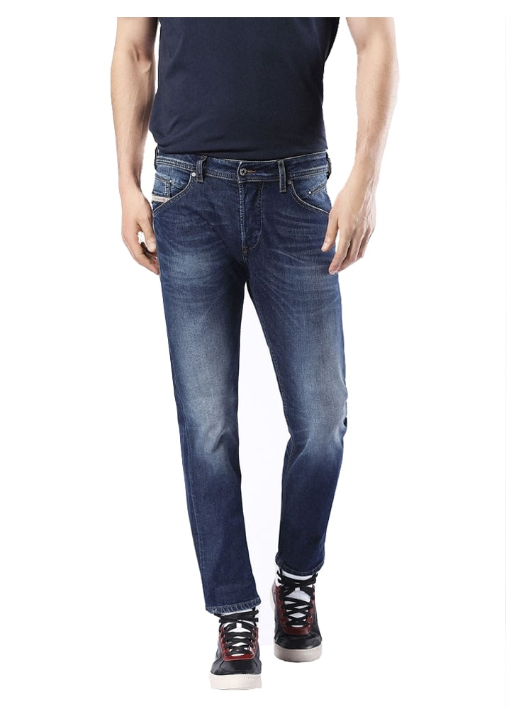 diesel belther regular slim tapered fitting jean 853r. Black Bedroom Furniture Sets. Home Design Ideas