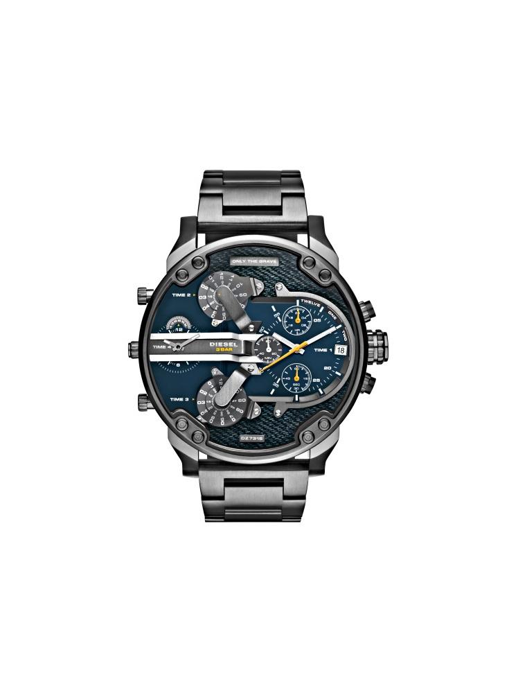 d604ecac1 Diesel Big Daddy 2.0 Denim Face Chronograph watch