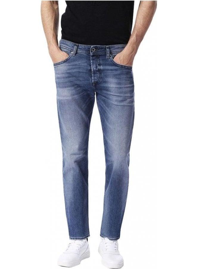 DIESEL Buster Tapered Fit Slim Leg Jean 0853p