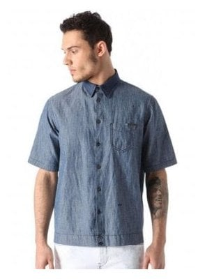 D-mak-poc S/s Denim Shirt Denim