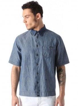 D-mak-poc S/s Denim Shirt Denim