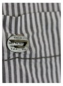 DIESEL Black and White Striped Shirt