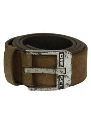 Diesel Blue Star Suade Belt