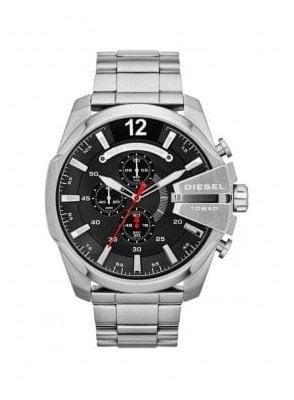 Diesel Large Round Faced Silver DZ4308 Watch