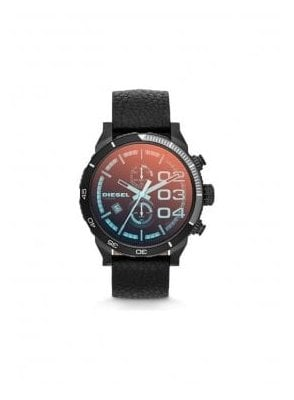 Double Down 48 Chronograph Sport Design Black Watch
