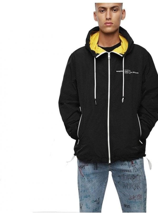 DIESEL J Phoen Plain Jacket 900 Black