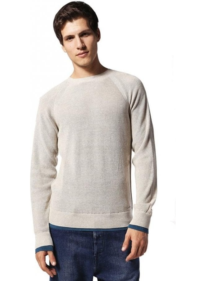 DIESEL K-habana Long Sleeved Ribbed Jumper 7bh