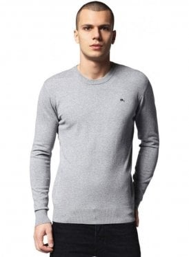 K-pablo Pullover Crew Neck Jumper Light Grey